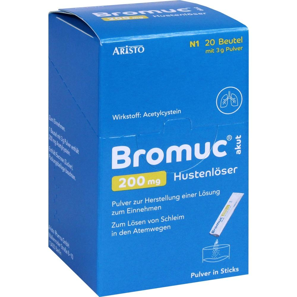 11353167, Bromuc akut 200mg Hustenlöser, 20 ST