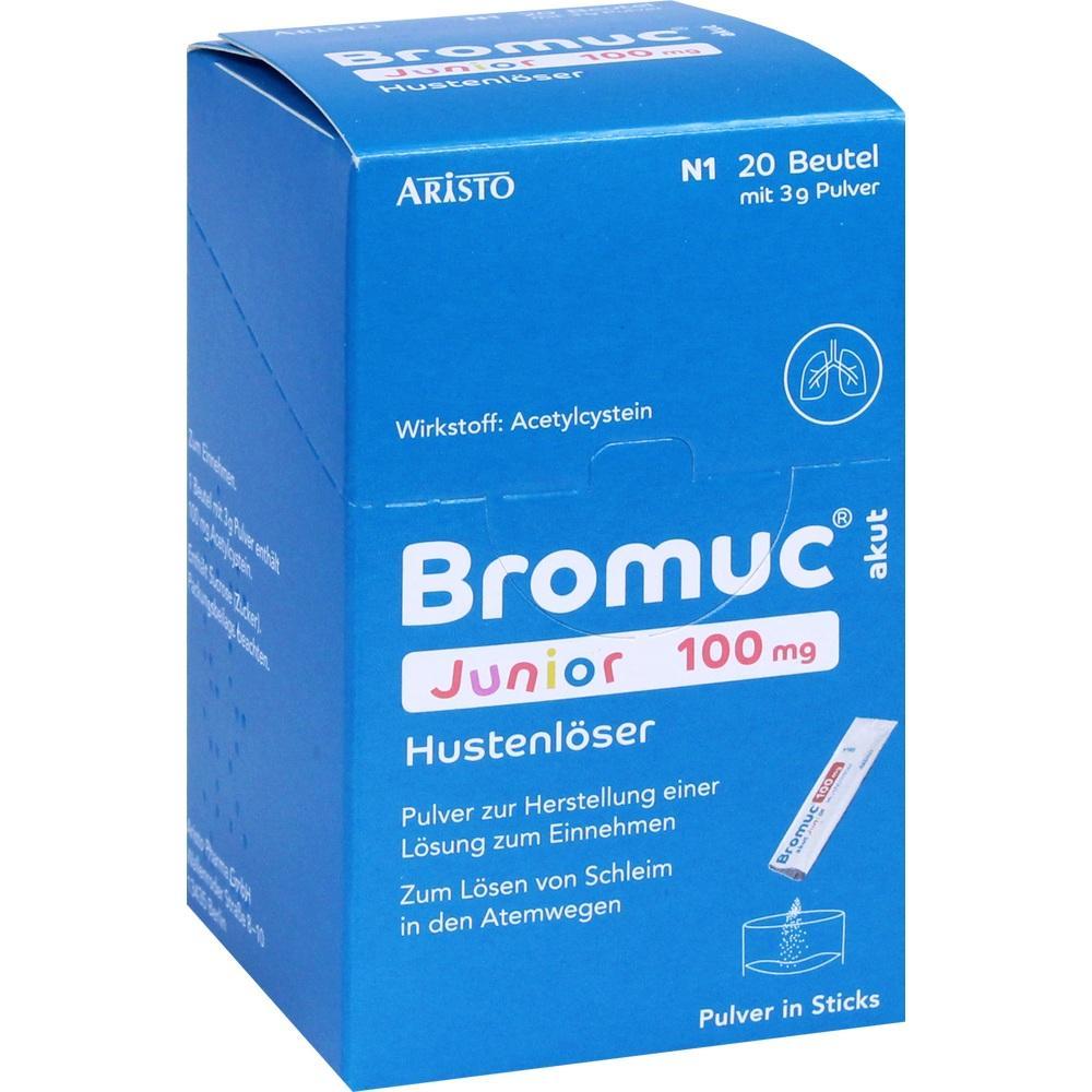 11353196, Bromuc akut Junior 100mg Hustenlöser, 20 ST