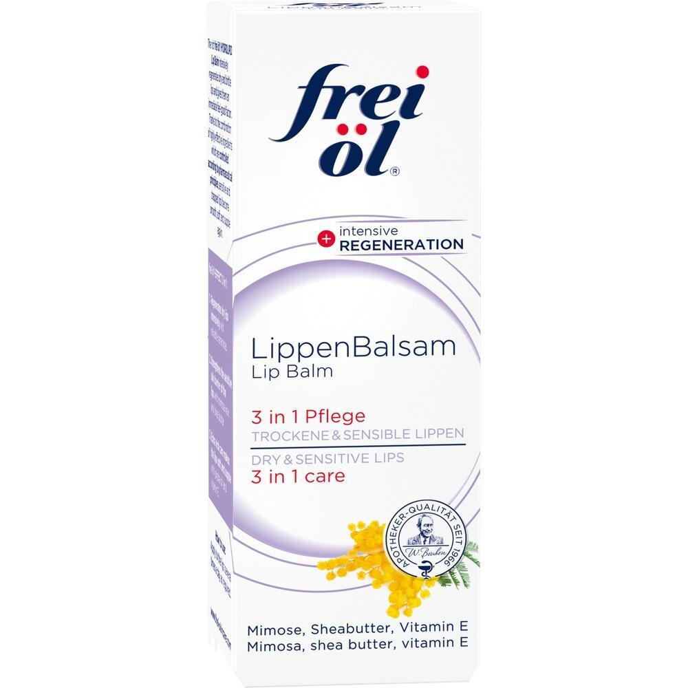 11359017, frei öl Hydrolipid LippenBalsam, 8 ML