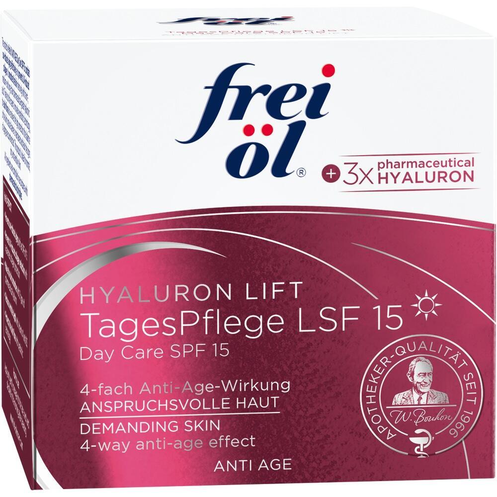 11359201, frei öl Anti Age Hyaluron Lift Tagespflege LSF 15, 50 ML