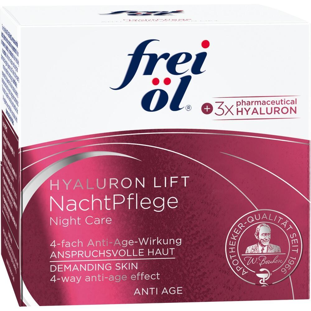 11359218, frei öl Anti Age Hyaluron Lift Nachtpflege, 50 ML