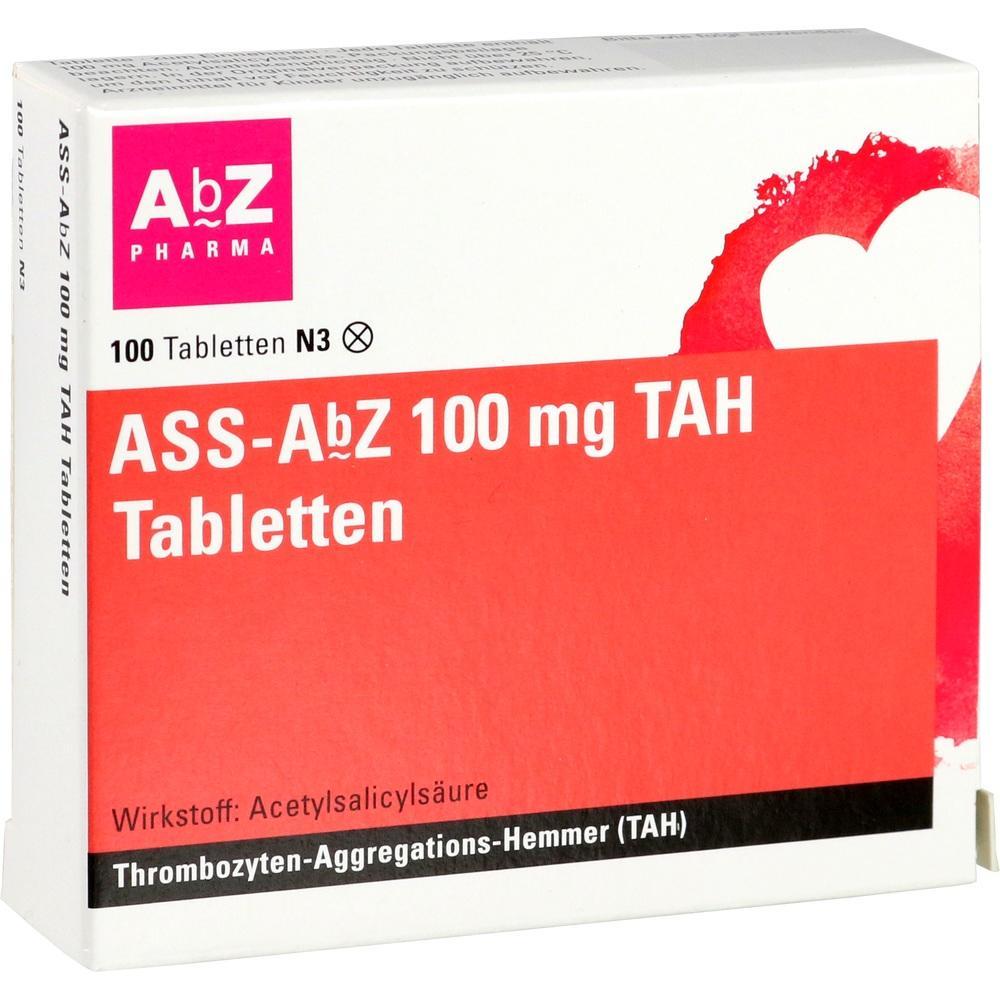 11481830, ASS-AbZ 100 mg TAH Tabletten, 100 ST