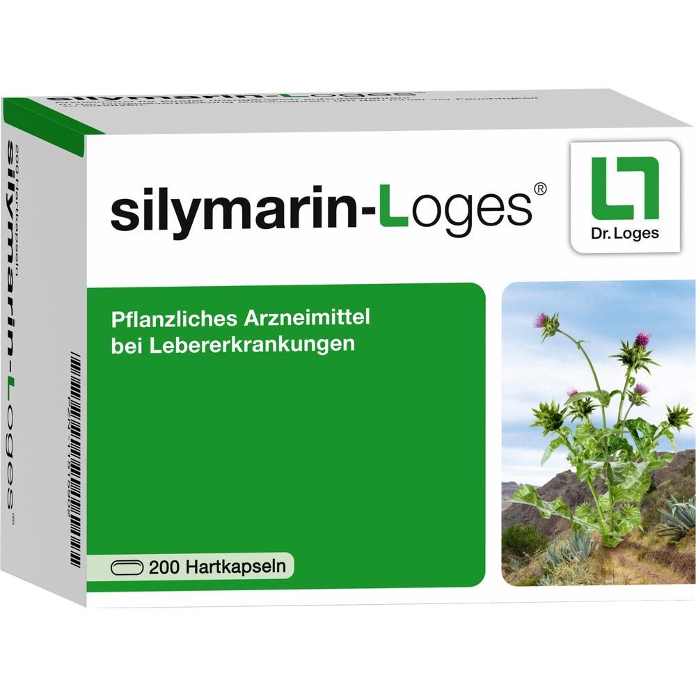 11515902, silymarin-Loges, 200 ST