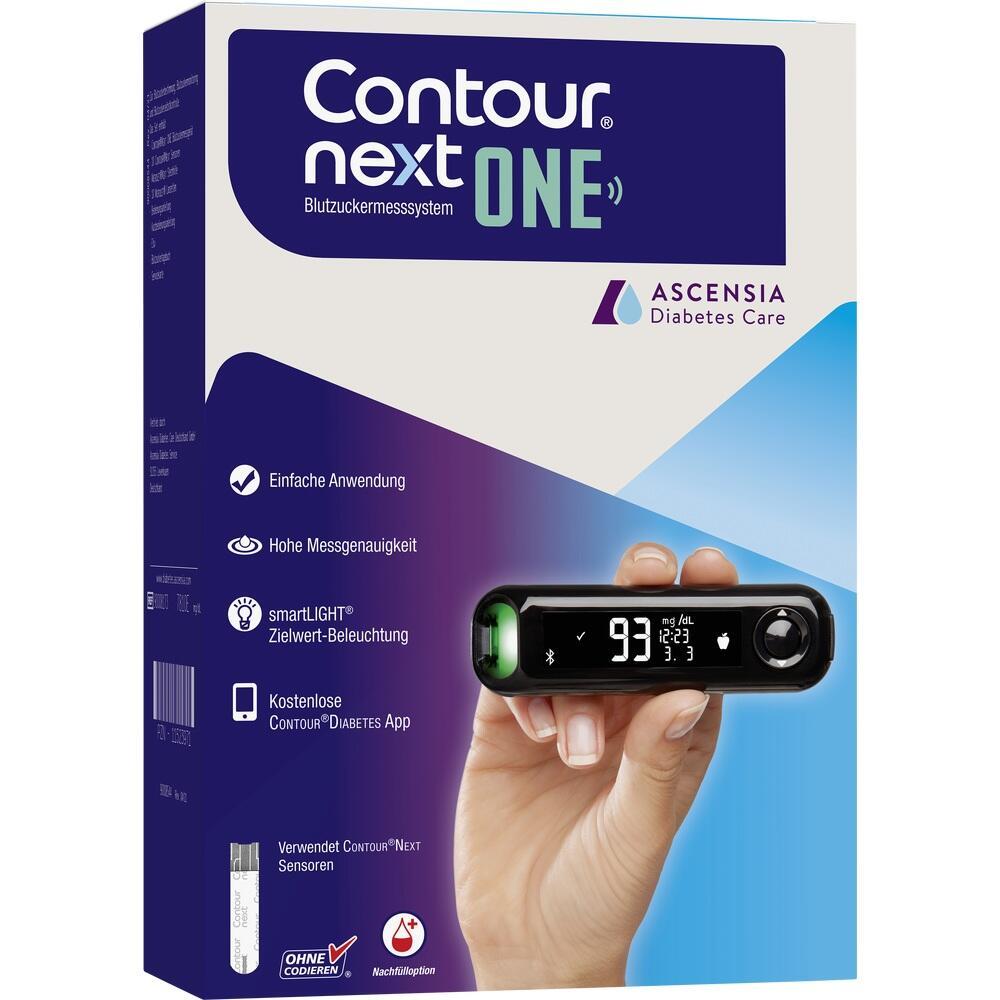 11523971, Contour Next One Set mg/dl, 1 ST