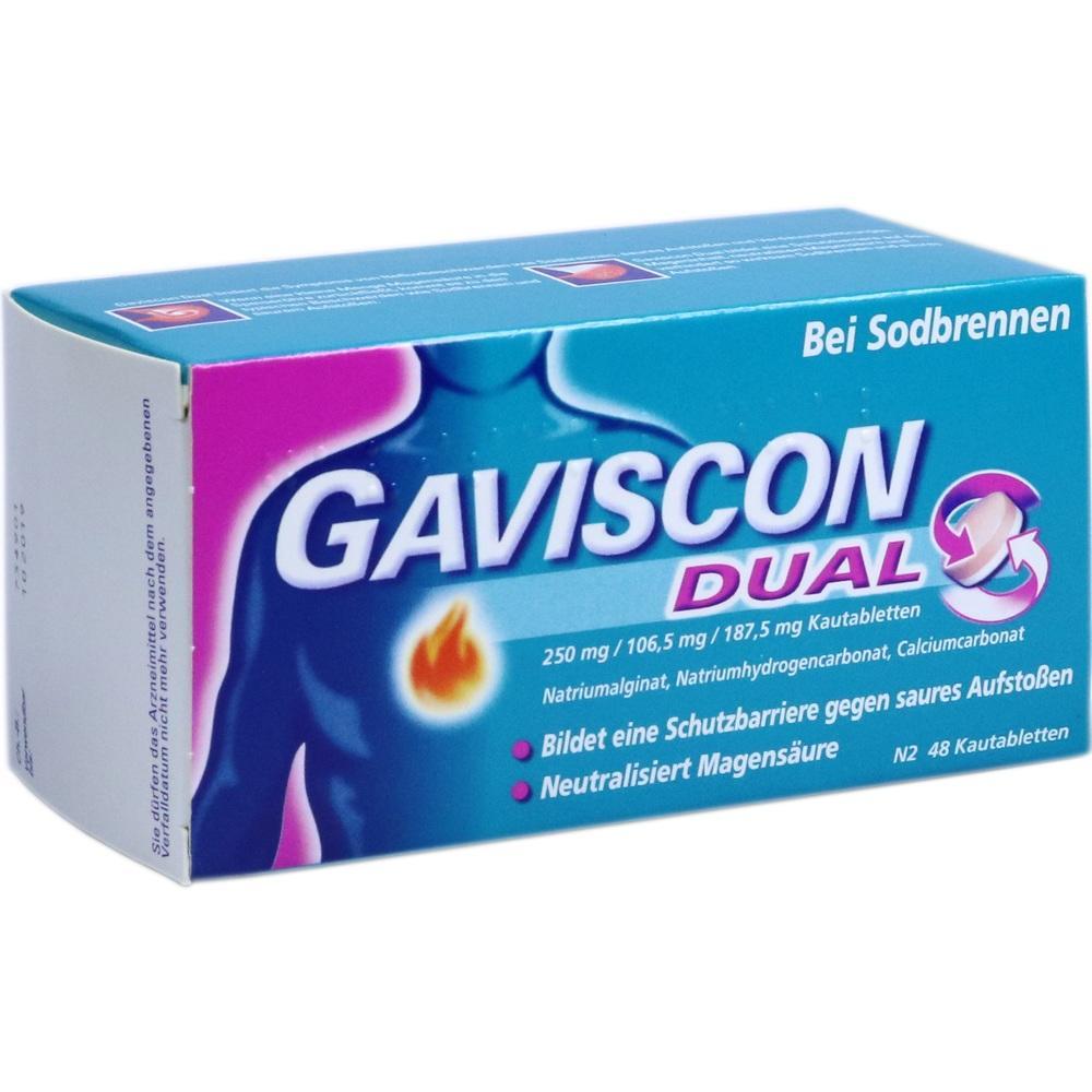 11528394, Gaviscon Dual Kautabletten, 48 ST