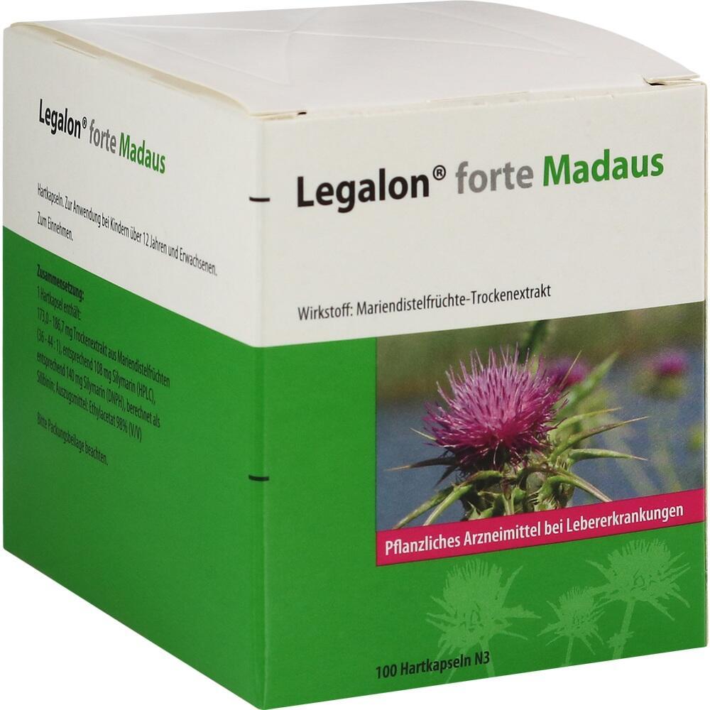 11548209, Legalon forte Madaus, 100 ST