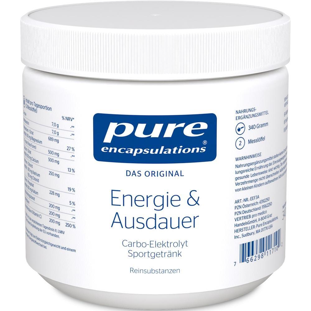 11562250, PURE ENCAPSULATIONS ENERGIE&AUSDAUER, 340 G