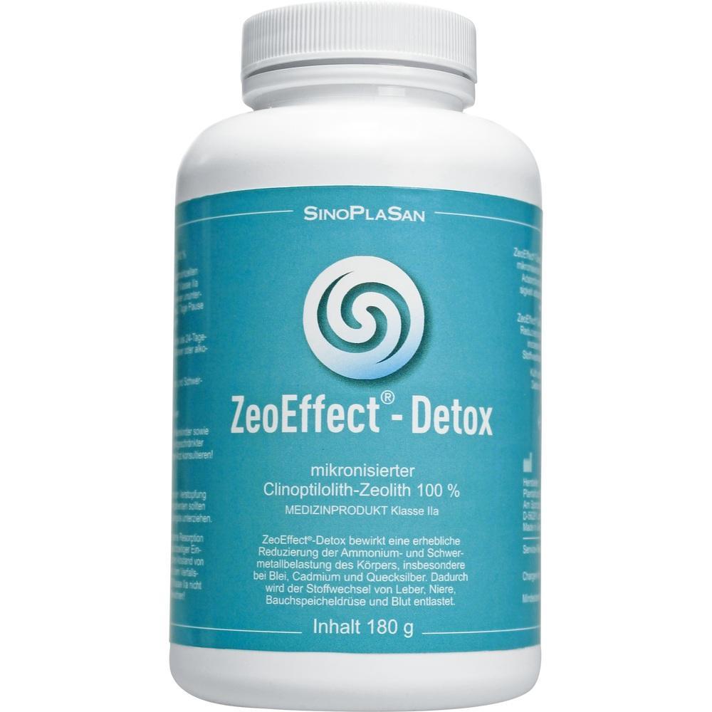 ZEOEFFECT Detox Clinoptilolith-Zeolith Pulver