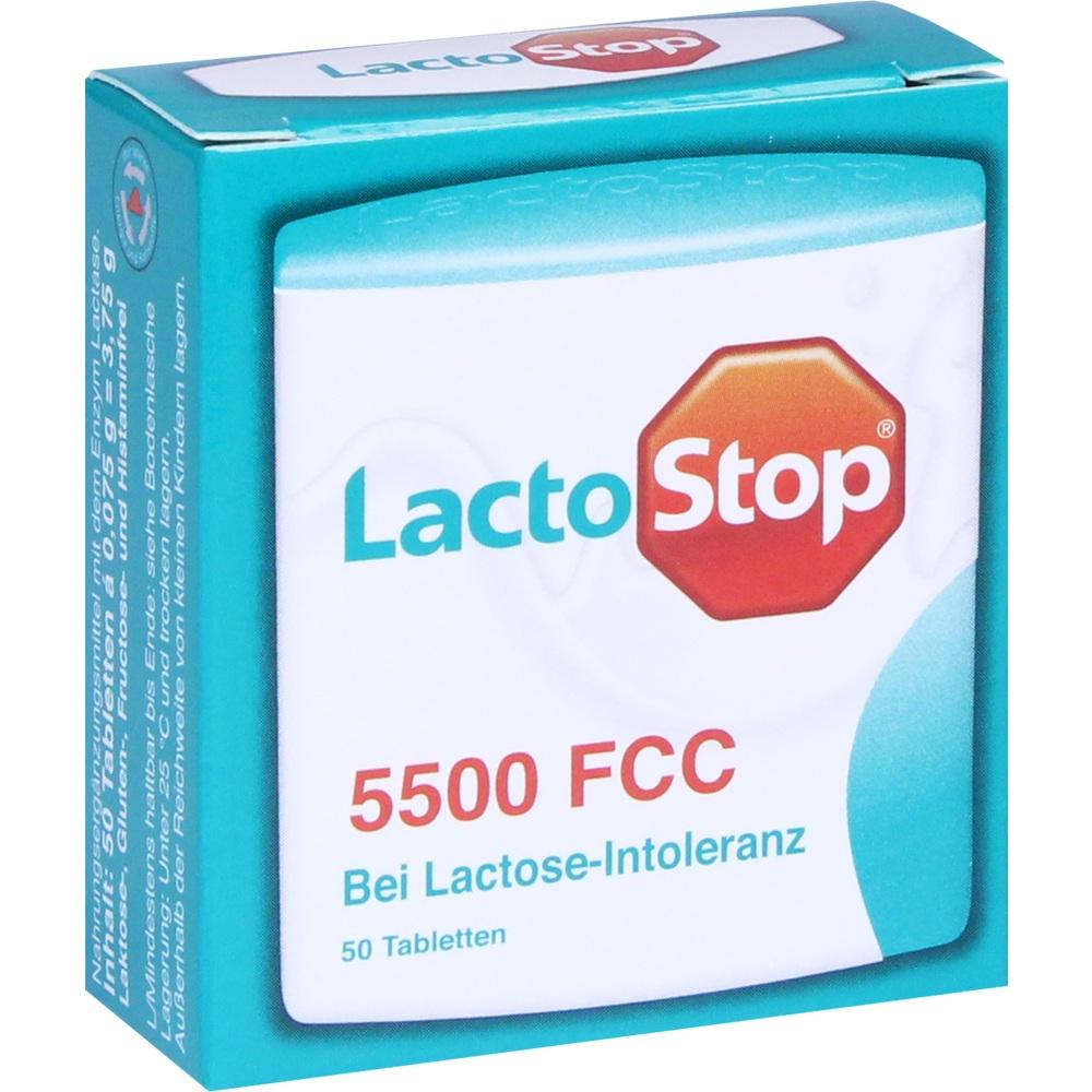 11578972, LACTOSTOP 5.500 FCC Tabletten im Klickspender, 50 ST