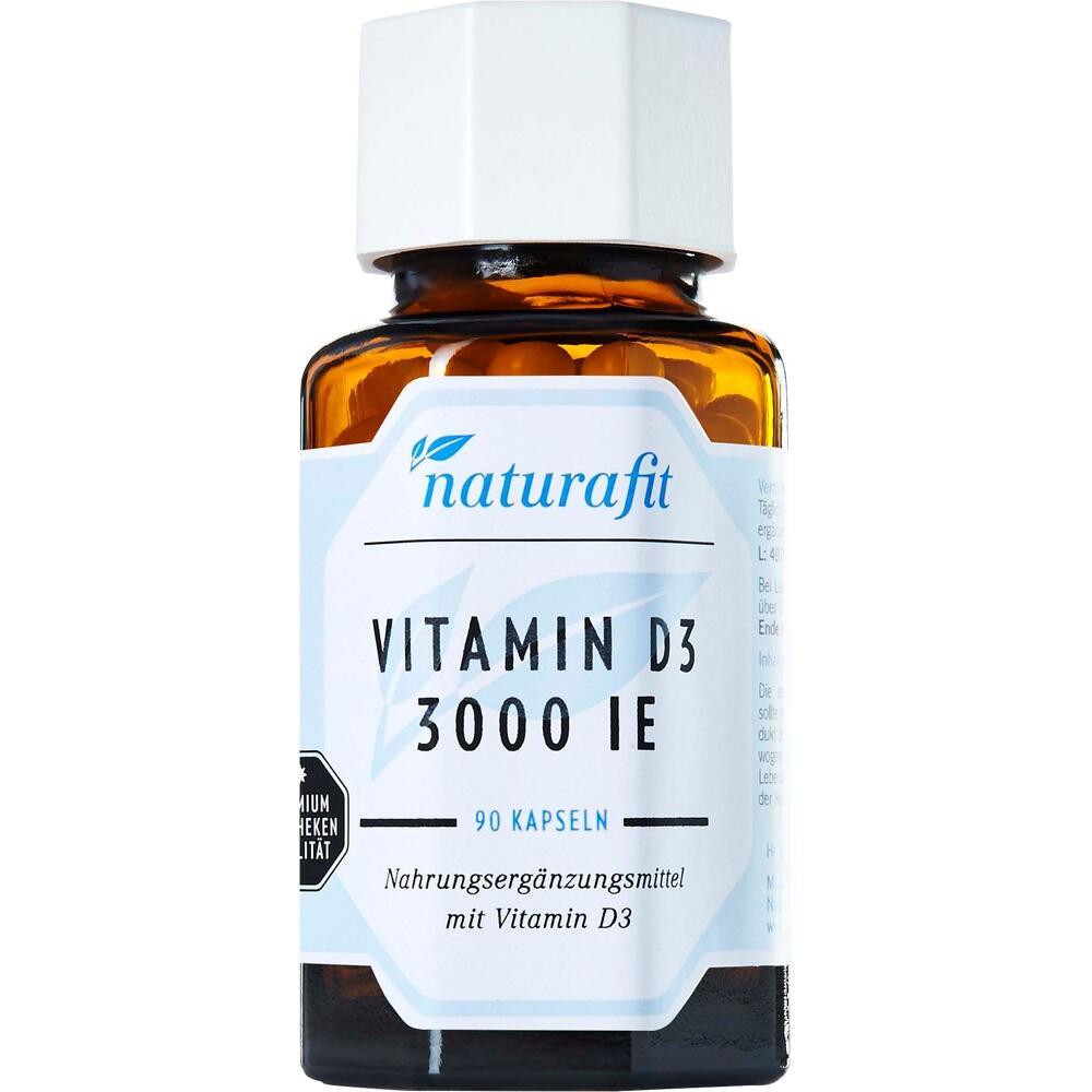 Naturafit Vitamin D3 3.000 I.e. Kapseln