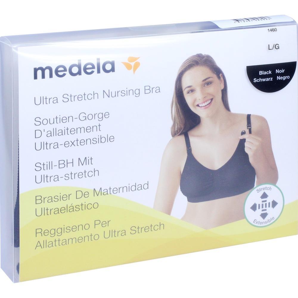 11592759, Medela Schwangerschafts- und Still BH L schwarz, 1 ST