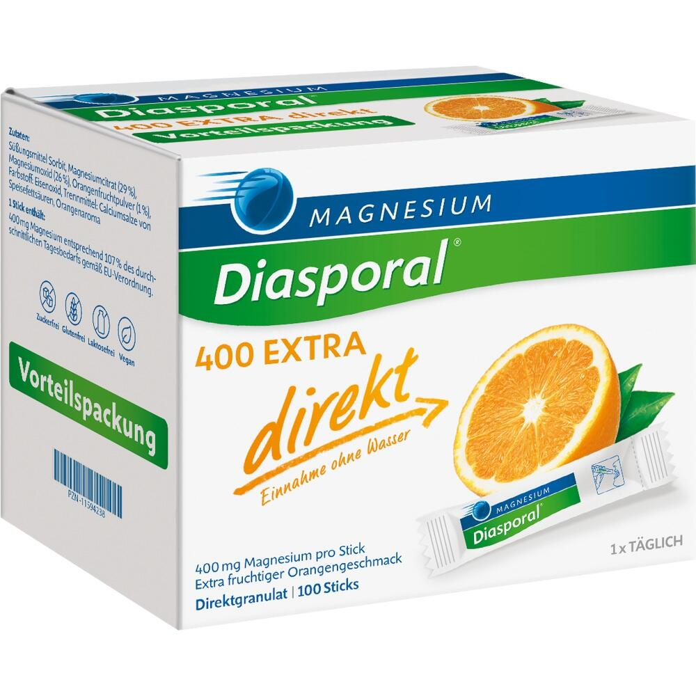 11594238, Magnesium-Diasporal 400 Extra direkt, 100 ST