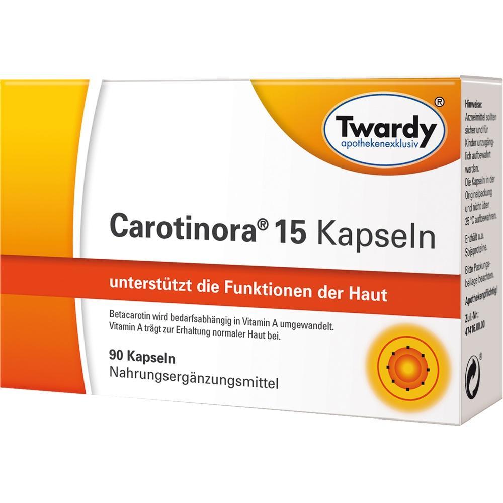 11594474, Carotinora 15 Kapseln, 90 ST