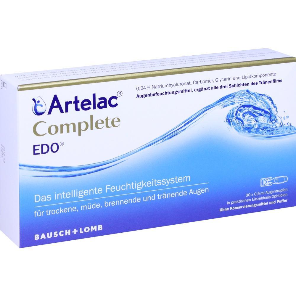11617896, Artelac Complete EDO, 30X0.5 ML