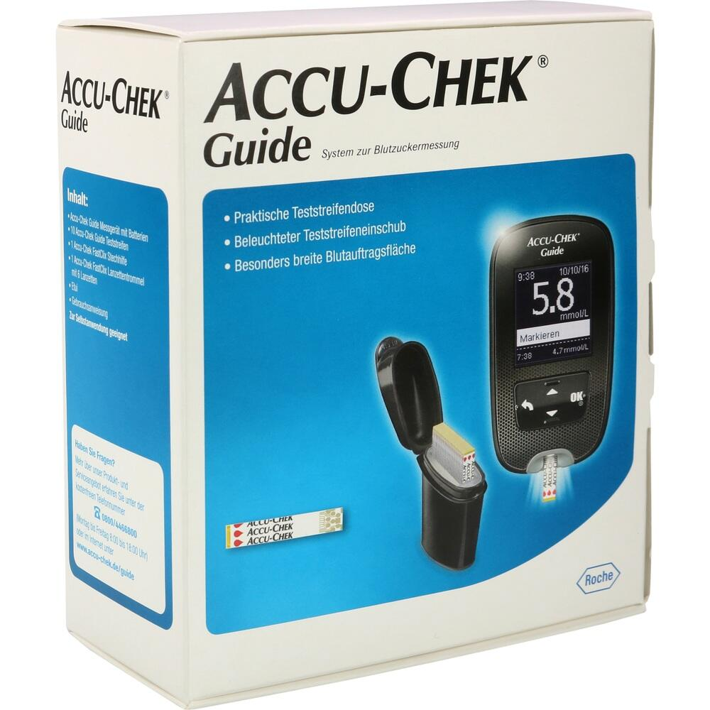 11664938, Accu-Chek Guide Set mmol/l, 1 ST