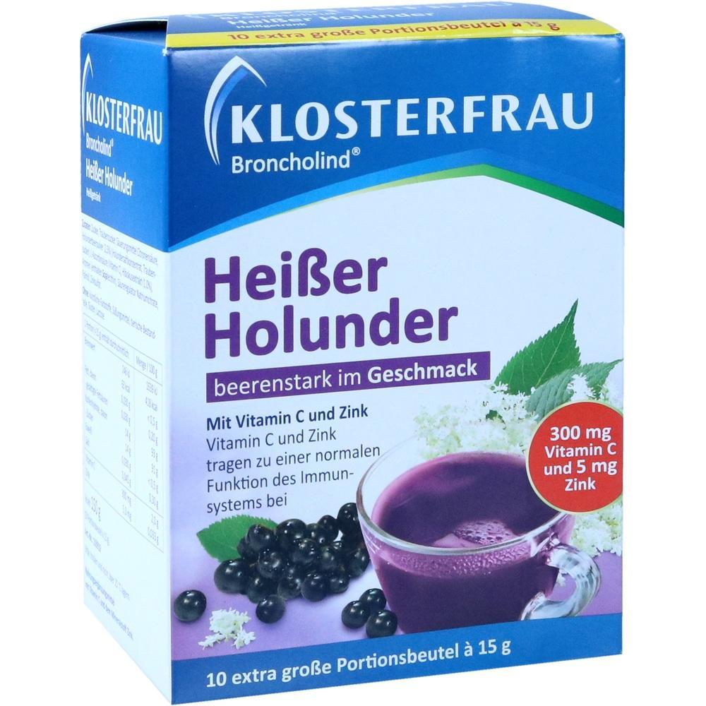11666021, Klosterfrau Broncholind Heißer Holunder, 10X15 G