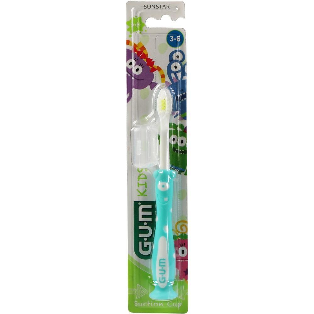 11666736, GUM Kids Monster Zahnbürste 3-6 Jahre, 1 ST