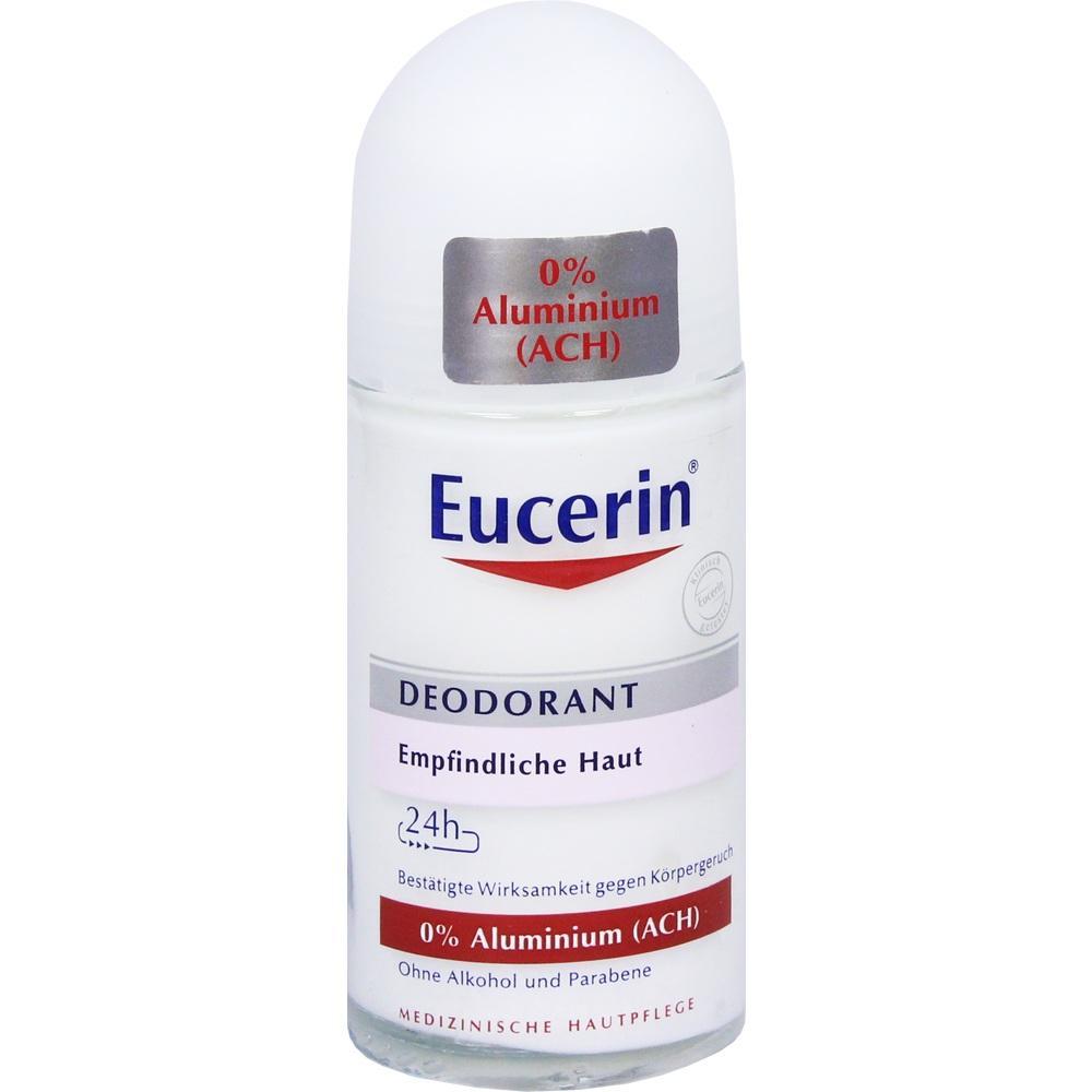 11692900, Eucerin Deodorant Roll-on 0% Aluminium, 50 ML