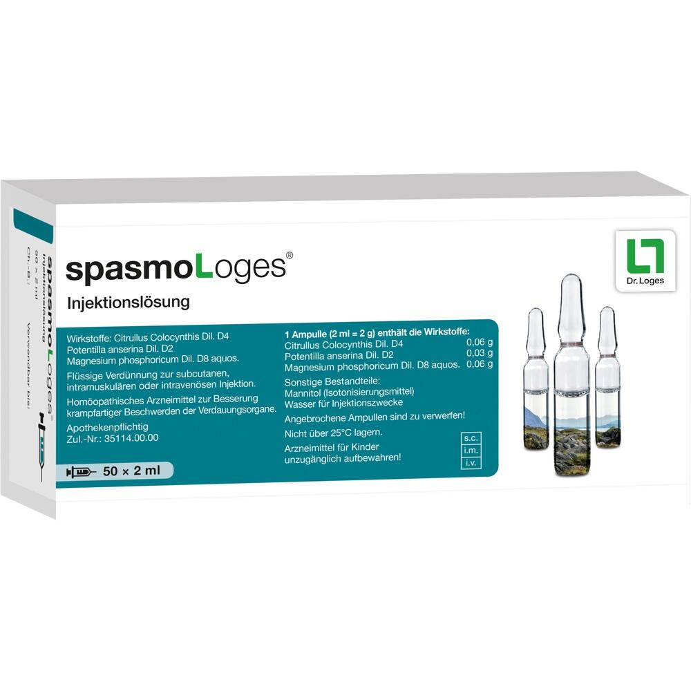 SPASMOLOGES Injektionslösung 2 ml Ampullen