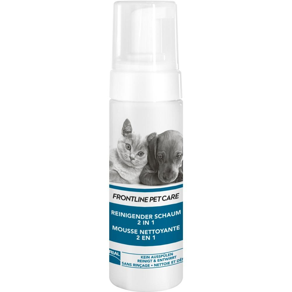 11852433, FRONTLINE PET CARE Reinigender Schaum 2 in 1, 150 ML