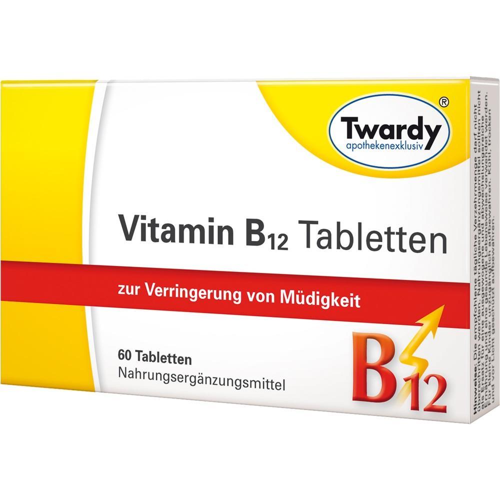 11886001, Vitamin B12 Tabletten, 60 ST