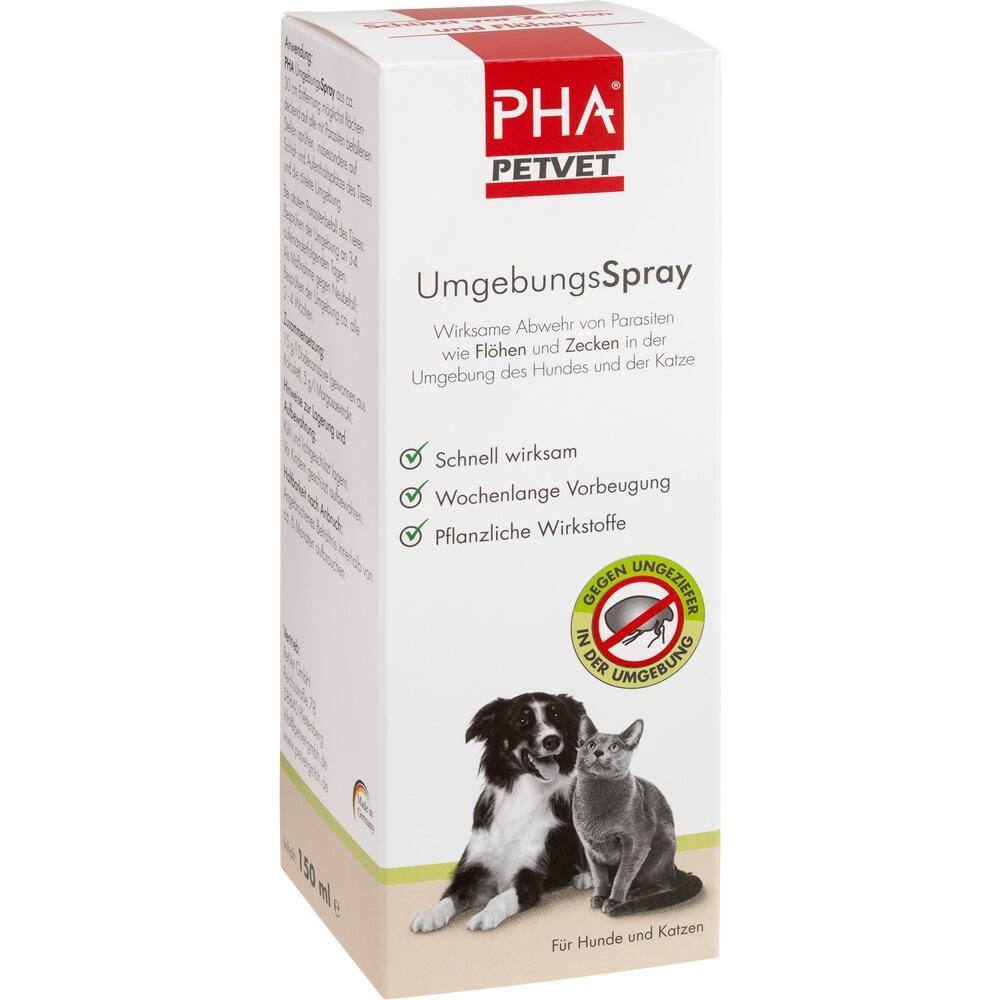 12147688, PHA UmgebungsSpray für Hunde und Katzen, 150 ML