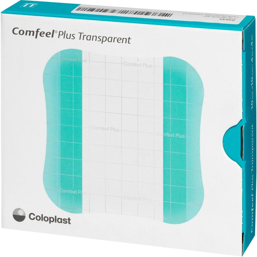 COMFEEL Plus Transparent Hydrokolloidverb.10x10 cm