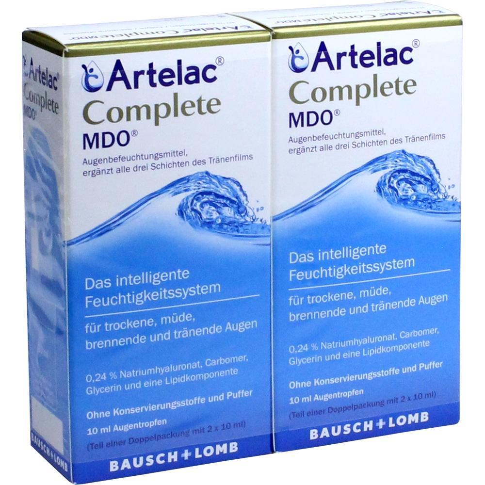 12436062, Artelac Complete MDO, 2X10 ML