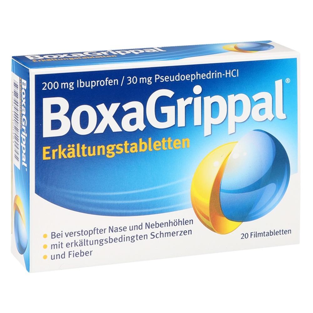 12460451, BoxaGrippal Erkältungstabletten 200mg/30mg FTA, 20 ST