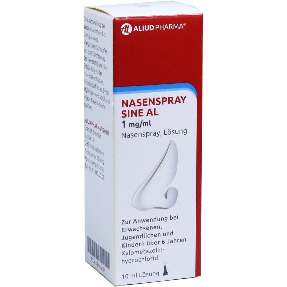 12464124, Nasenspray sine AL 1 mg/ml Nasenspray, 10 ML