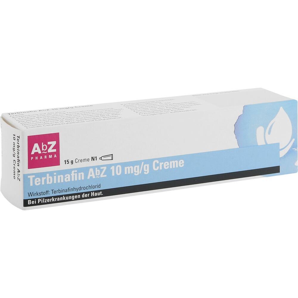 12552934, Terbinafin AbZ 10 mg/g Creme, 15 G