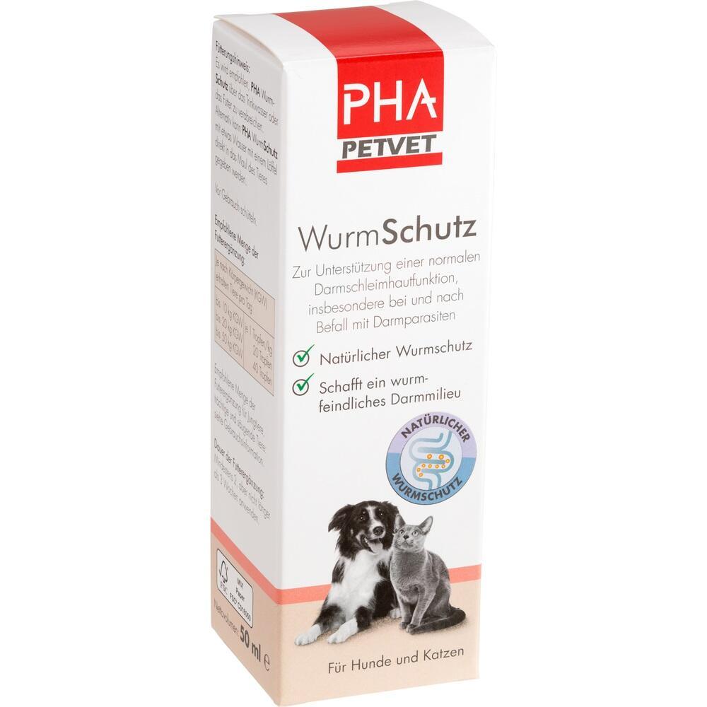 12553649, PHA Wurm Schutz für Hunde und Katzen, 50 ML