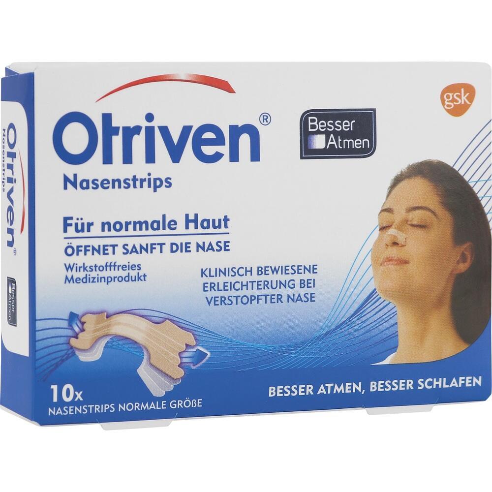 12555973, Otriven Besser Atmen Strips Beige Normal, 10 ST