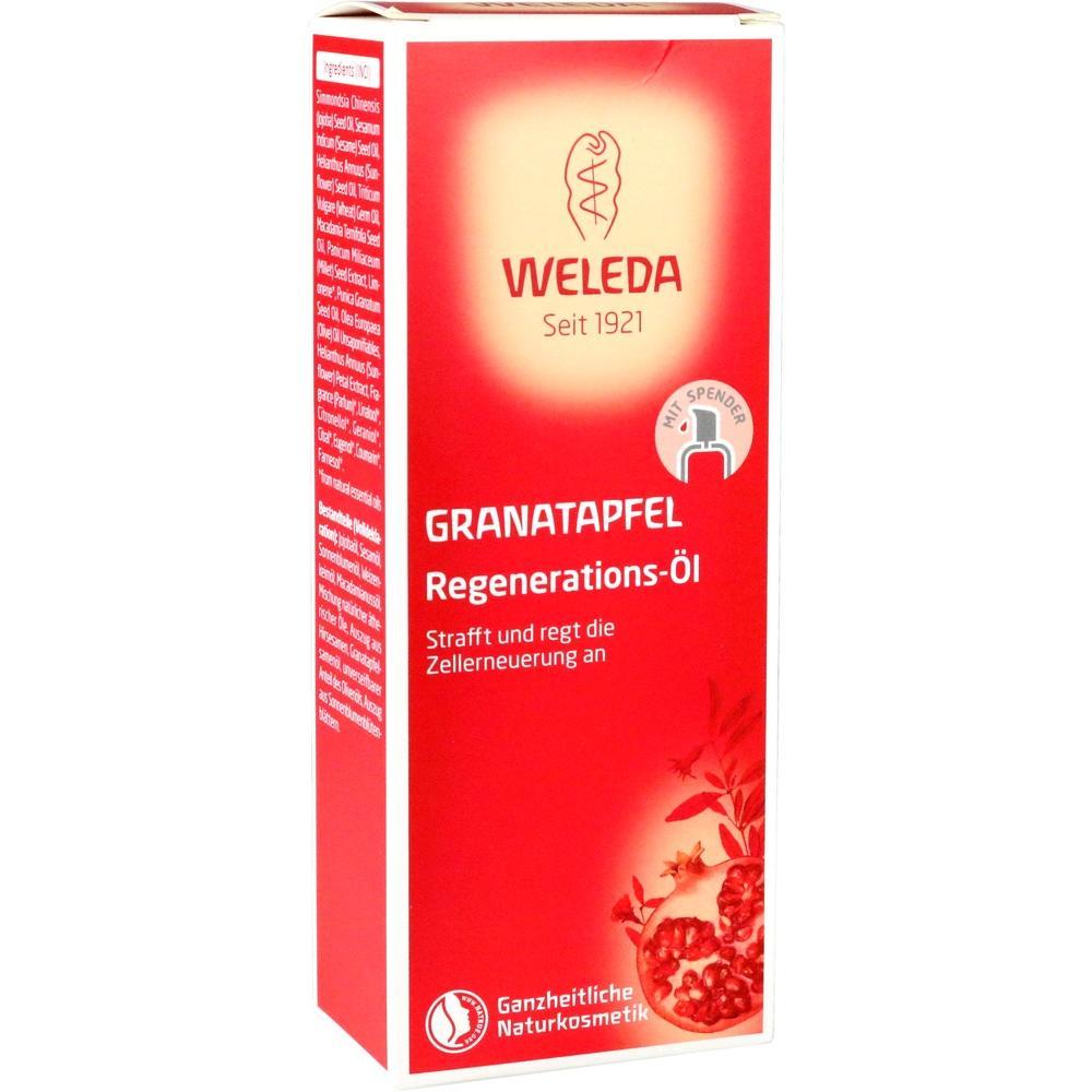 12564073, WELEDA GRANATAPFEL Regenerations-Öl, 100 ML