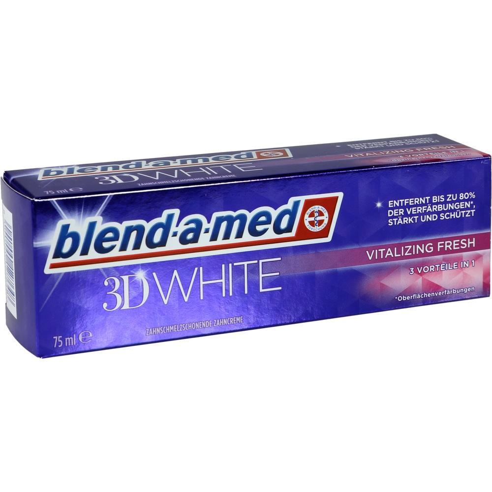 12567893, blend-a-med 3D White Vitalizing Fresh, 75 ML