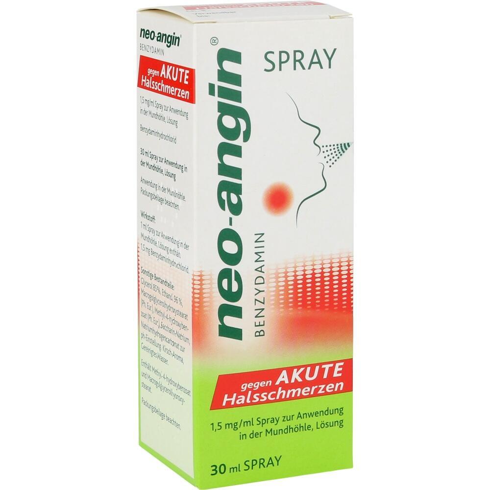 12607316, neo-angin Benzydamin gg akute Halsschmerzen Spray, 30 ML