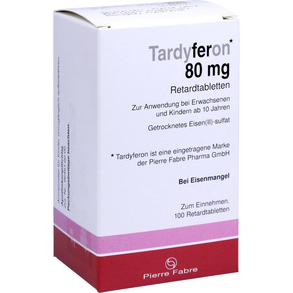 Tardyferon Depot-Eisen(II)-sulfat 80mg