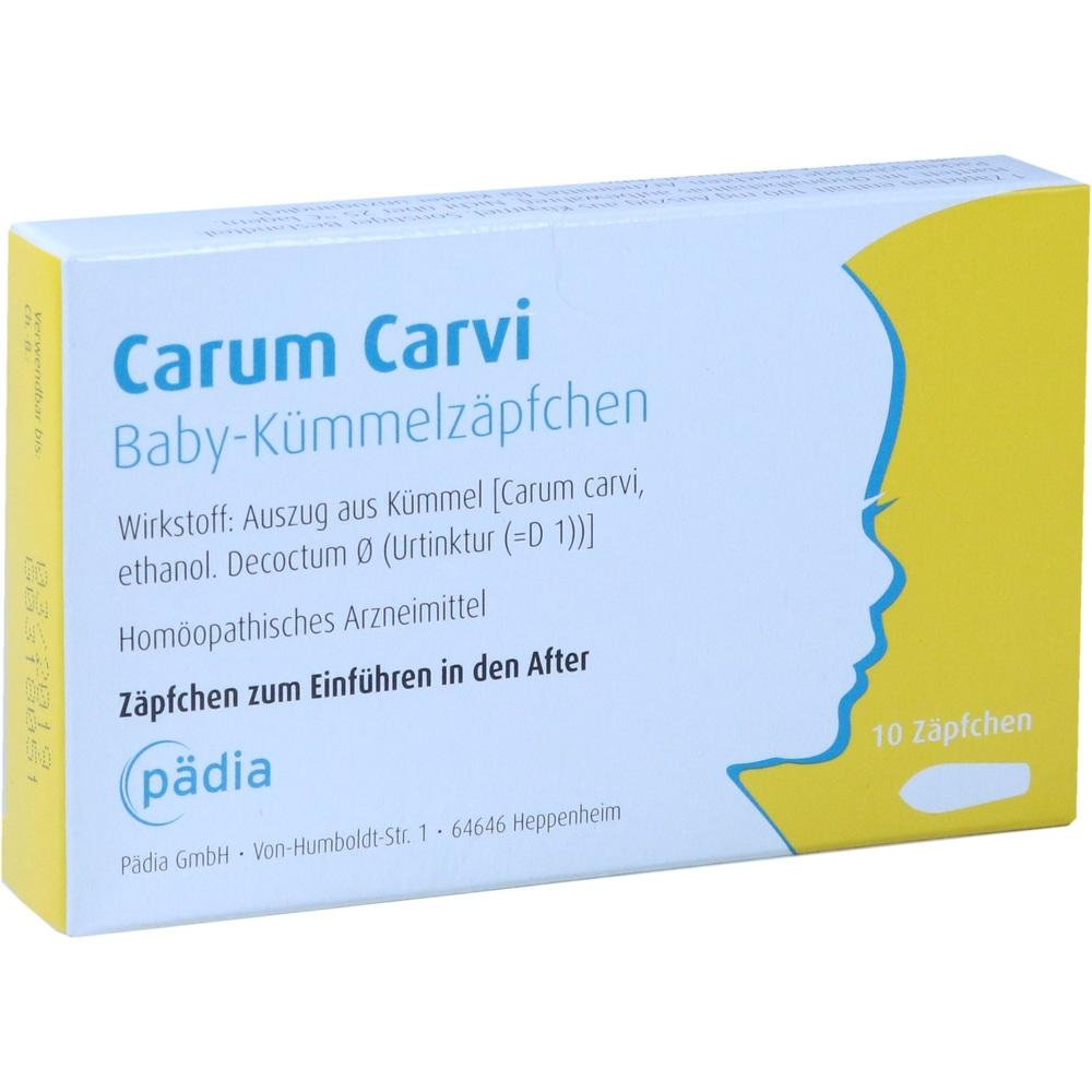 CARUM CARVI Baby-Kümmelzäpfchen