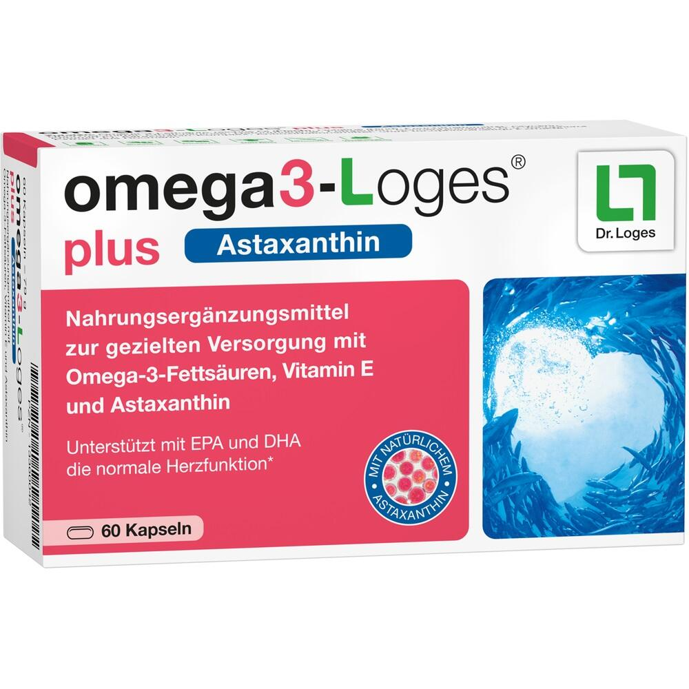 13360042, omega3-Loges plus, 60 ST