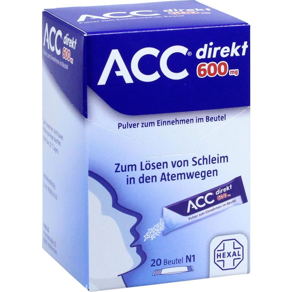 13393521, ACC direkt 600 mg Pulver zum Einnehmen im Beutel, 20 ST
