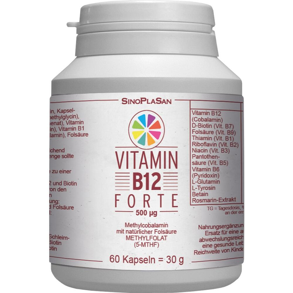 Vitamin B12 Forte 500 Methylcobalamin
