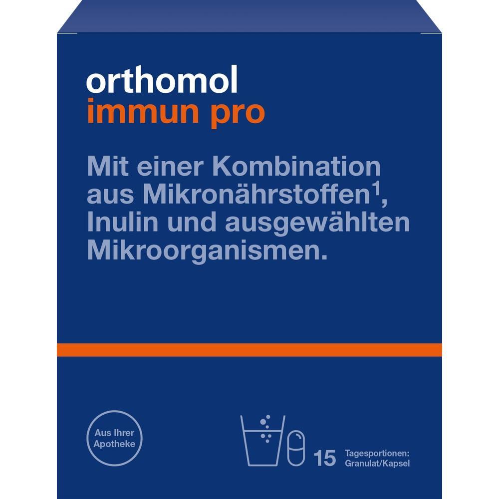 13886287, Orthomol Immun pro Granulat/Kapsel, 15 ST