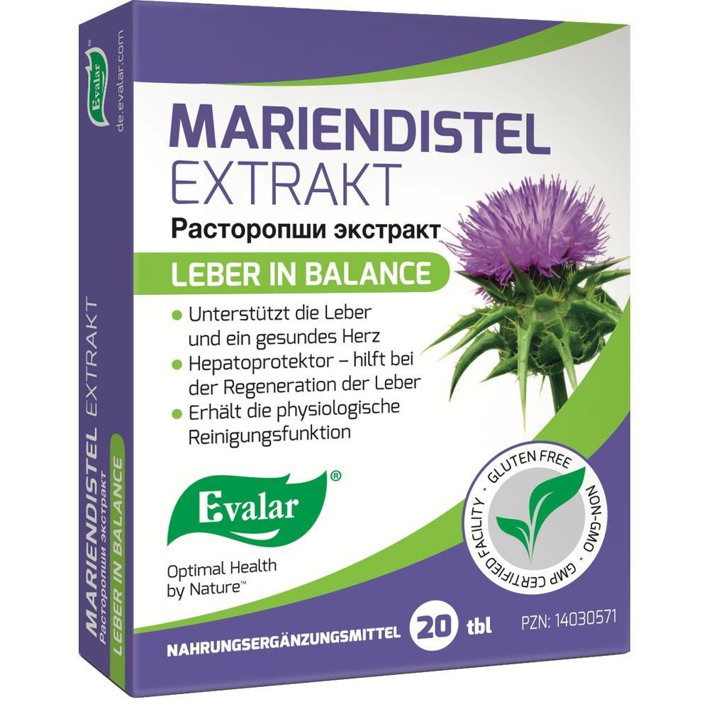 Mariendistel Extrakt Tabletten