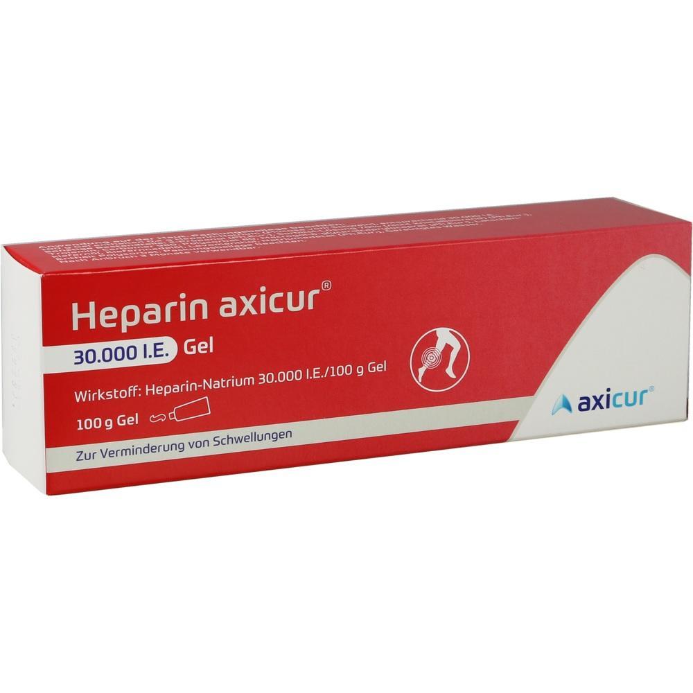 14052242, Heparin axicur 30.000 I.E. Gel, 100 G