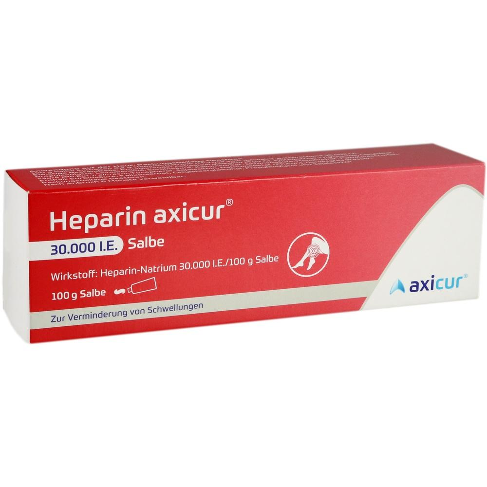 14052259, Heparin axicur 30.000 I.E. Salbe, 100 G
