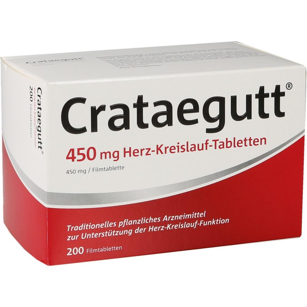 14064541, Crataegutt 450 mg Herz-Kreislauf-Tabletten, 200 ST
