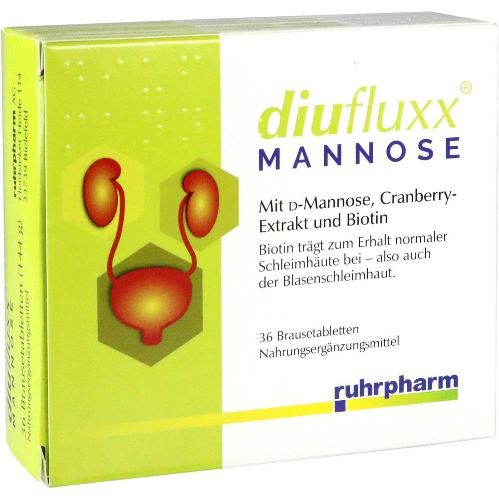 Diufluxx Mannose Brausetabletten