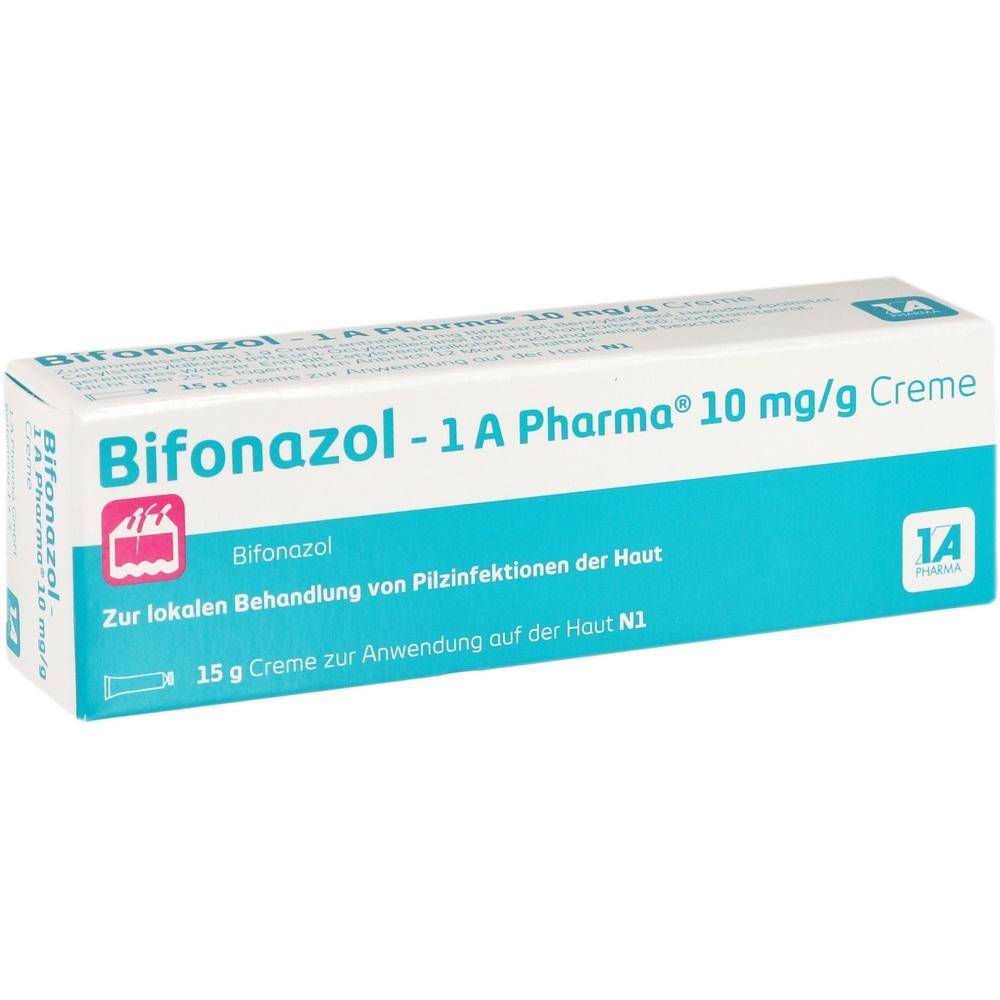 14170622, Bifonazol - 1 A Pharma 10 mg/g Creme, 15 G