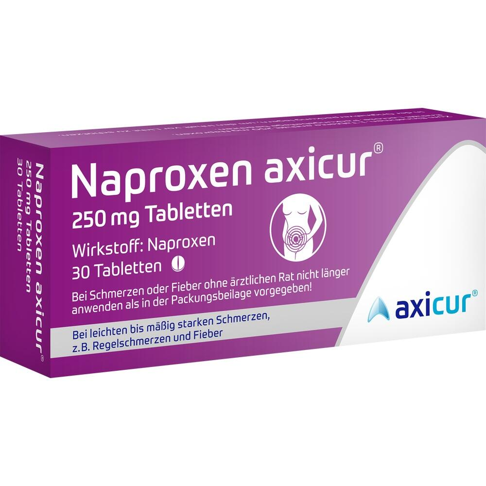 14412137, Naproxen axicur 250 mg Tabletten, 30 ST