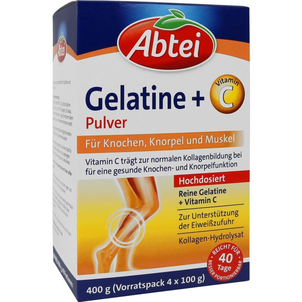 Omega Pharma Deutschland GmbH Abtei Gelantine + Vitamin C Pulver 15570602